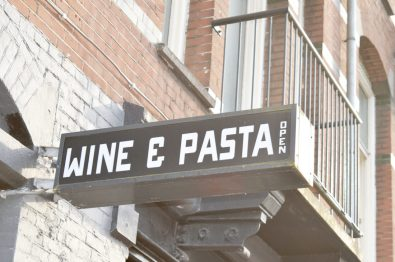 Amsterdam West Cantinetta Wine & Pasta Italian Restaurant | Gay Couple City Weekend Amsterdam Netherlands © CoupleofMen.com