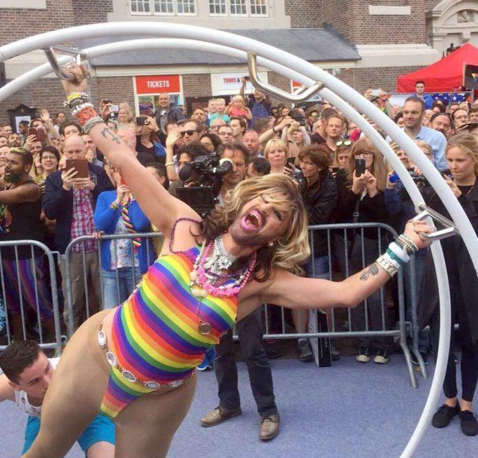 Gay Pride Amsterdam Strong Photos Gay Euro Pride Amsterdam 2016