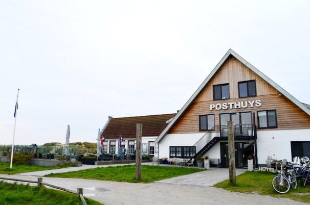 """Old Post House"" in West Vlieland | Dutch Island Vlieland Autumn Weekend © Coupleofmen.com"