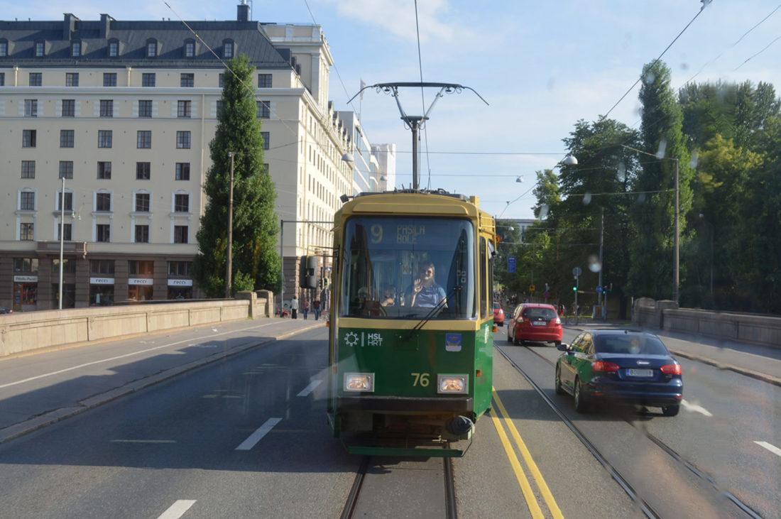 Tram Ride Helsinki   Gay Couple City Weekend Helsinki Finland © Coupleofmen.com