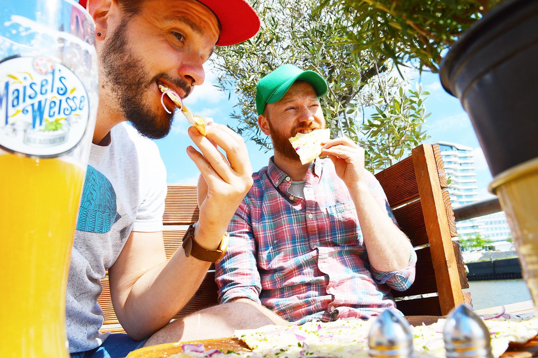 Restaurant Kaiser's Hafen City   Gay Couple City Weekend Hamburg Germany © CoupleofMen.com