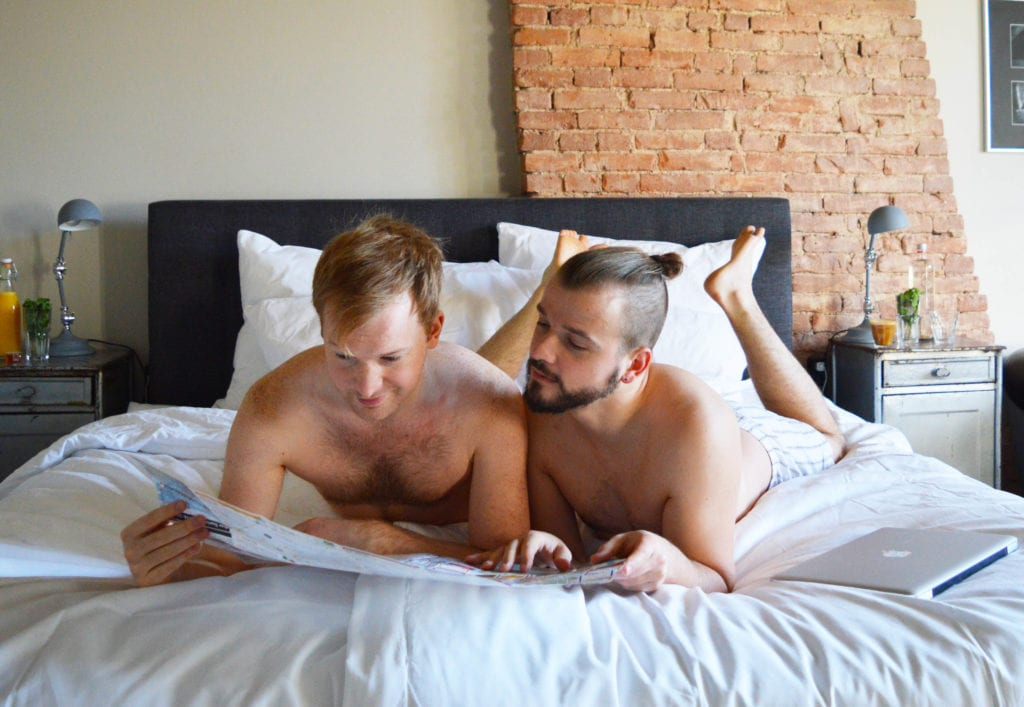 Gay Couple City Weekend Nijmegen Boutique Hotel Sleep-Inn Box 5 Nijmegen
