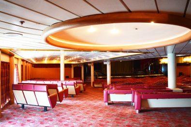 Theater on Cruise ship SOVEREIGN |Gay Men Tips La Demence The Cruise © CoupleofMen.com