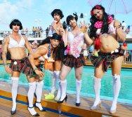 Tips European Gay Cruise Lady's Nights | Gay Men Tips La Demence The Cruise © CoupleofMen.com