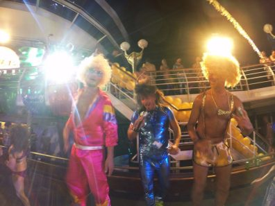 Disco Party | Gay Couple Diary La Demence Cruise © CoupleofMen.com
