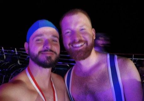 Sports Party | Gay Men Tips La Demence The Cruise © CoupleofMen.com