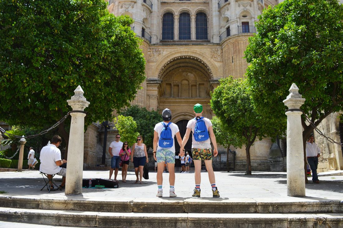 One Day in Malaga | Gay Couple Diary La Demence Cruise © CoupleofMen.com