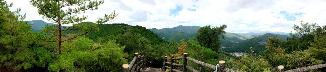 Trails over the Mountaintops | Gay Couple Pilgrimage Kumano Kodo Japan © CoupleofMen.com