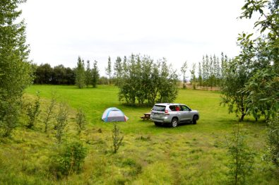 Camping next to the Geysir | Golden Circle Tour Iceland Þingvellir Geysir Gullfoss © CoupleofMen.com