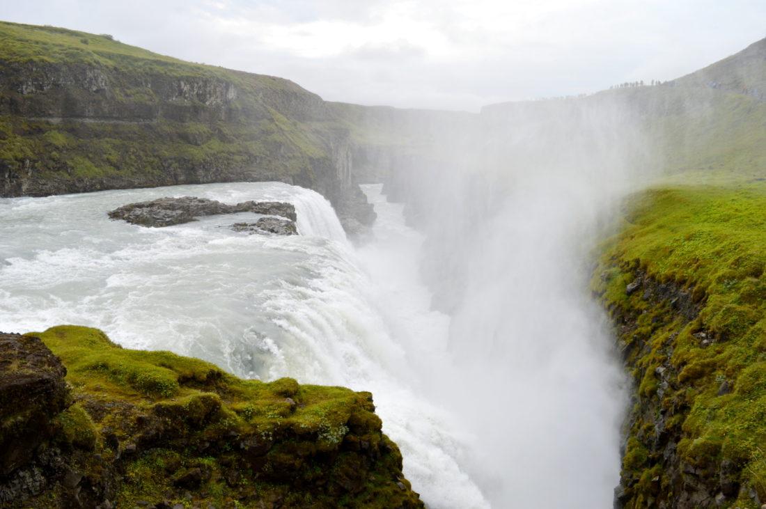 Gullfoss Waterfall Iceland   Golden Circle Tour Iceland Þingvellir Geysir Gullfoss © CoupleofMen.com
