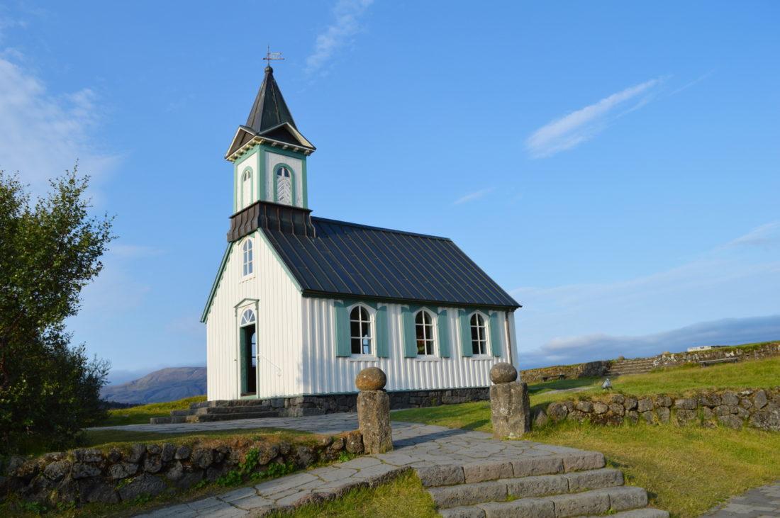 Chapel at Þingvellir   Golden Circle Tour Iceland Þingvellir Geysir Gullfoss © CoupleofMen.com