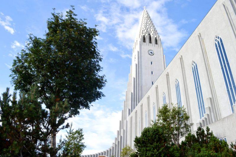 The Hallgrímskirkja Reykjavik | Gay Couple Travel City Weekend Reykjavik Iceland © Coupleofmen.com