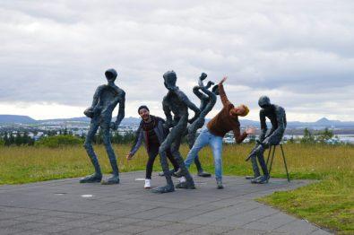 Sculpture Fun in Reykjavik | Reykjavik Gay Travel City Weekend Reykjavik Iceland © Coupleofmen.com