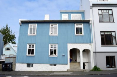 Reykjavik Gay Travel Metallic blue house | Gay Couple Travel City Weekend Reykjavik Iceland © Coupleofmen.com