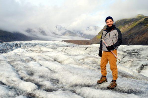 No-Man's-Land Skaftafell Glacier Iceland