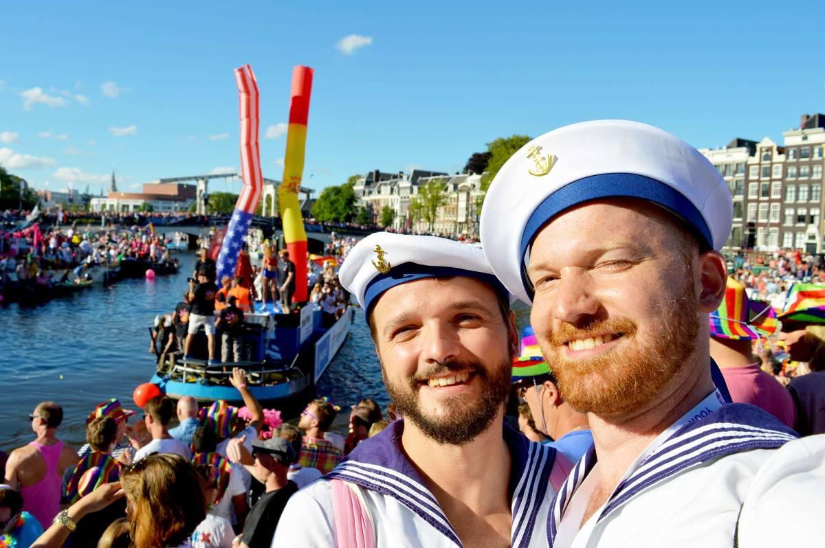 Gay Euro Pride Amsterdam 2016