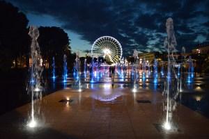 City of Nice by night in beautiful light © CoupleofMen.com