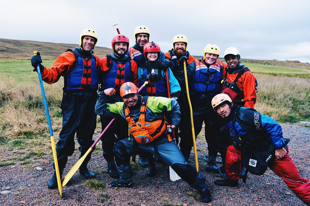 Viking White Water Rafting North Iceland © CoupleofMen.com