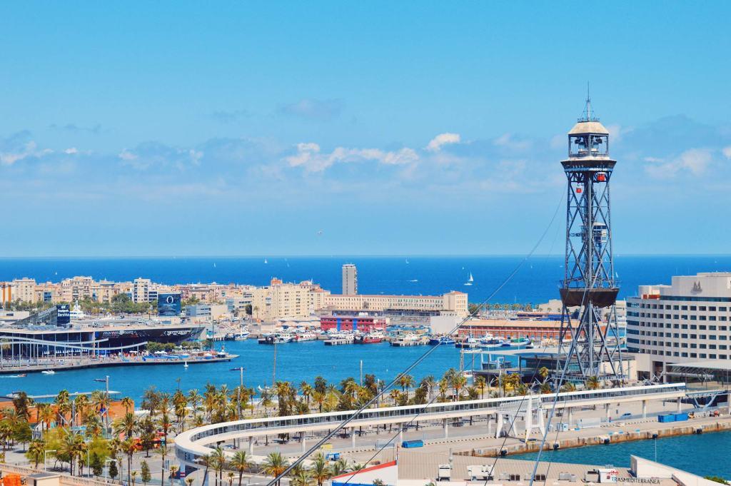 Teleférico del Puerto Port Cable Car Barcelona © CoupleofMen.com