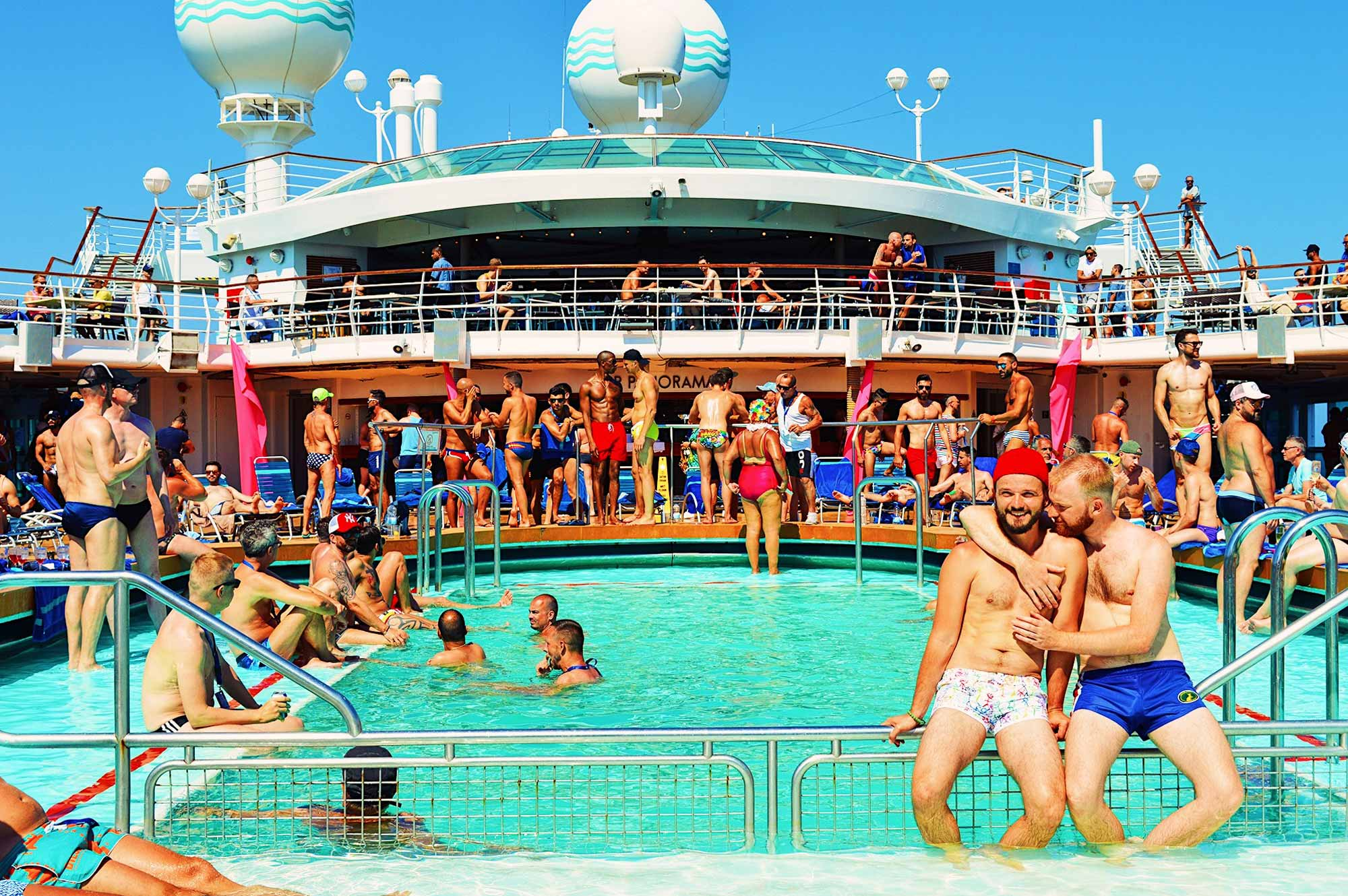 Gay Couple Diary La Demence Cruise © CoupleofMen.com