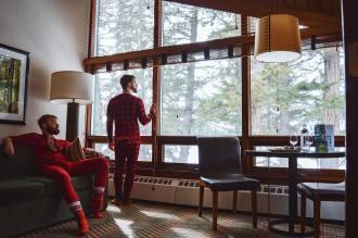 Jasper Park Lodge Alberta Canada Gay-friendly Hotel © CoupleofMen.com