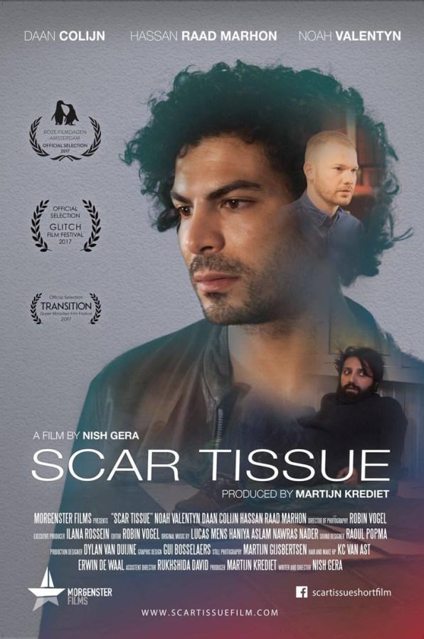 Film Poster 2   Scar Tissue Dutch Gay Short Movie 2017 with Daan Colijn and Noah Valentyn   Morgenster Films