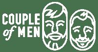 Couple of Men Gay Travel Blog Logo White © CoupleofMen.com