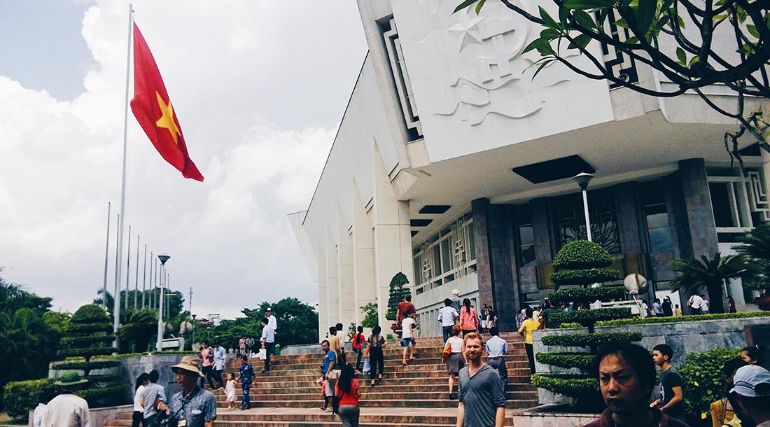 Ho Chi Minh Mausoleum Area in Hanoi | Top Highlights Best Photos Gay Couple Travel Vietnam © CoupleofMen.com