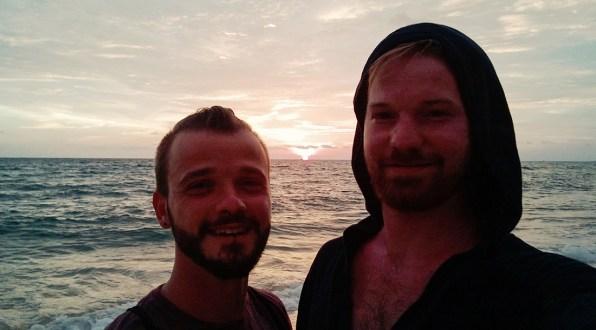 Sunset on Phu Quoc Island | Top Highlights Best Photos Gay Couple Travel Vietnam © CoupleofMen.com