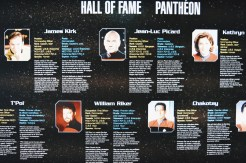 Hall of Fame Star Trek Captains | Telus Spark Calgary Star Trek Academy Experience © CoupleofMen.com