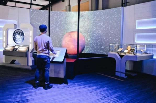 Karl saving an Alien Species | Telus Spark Calgary Star Trek Academy Experience © CoupleofMen.com