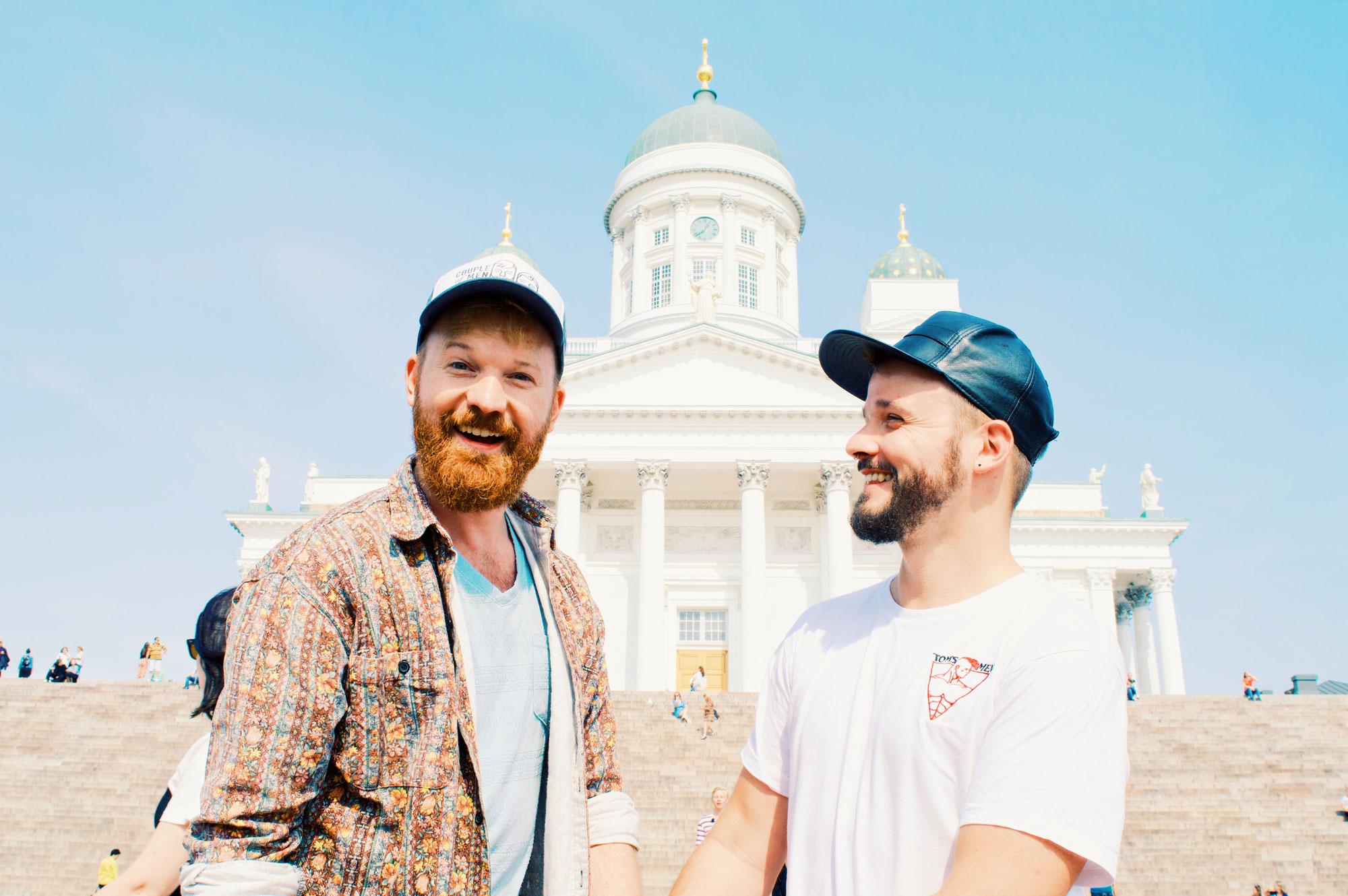 Our Gay Couple City Weekend Helsinki Finnland © CoupleofMen.com