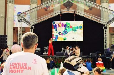 Free open air concert after Baltic Pride 2017 Tallinn Best Powerful LGBTQ Photos © CoupleofMen.com