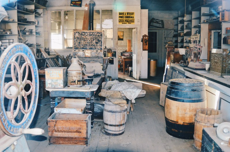 Fully equipped Grocery Store in Bodie | Ghost Town Bodie State Historic Park California © CoupleofMen.com