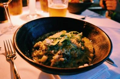 Gay Travel Ibiza Asian cuisine at Restaurant Plaça del Sol | Gay Couple Travel Gay Beach Ibiza Town Spain © CoupleofMen.com