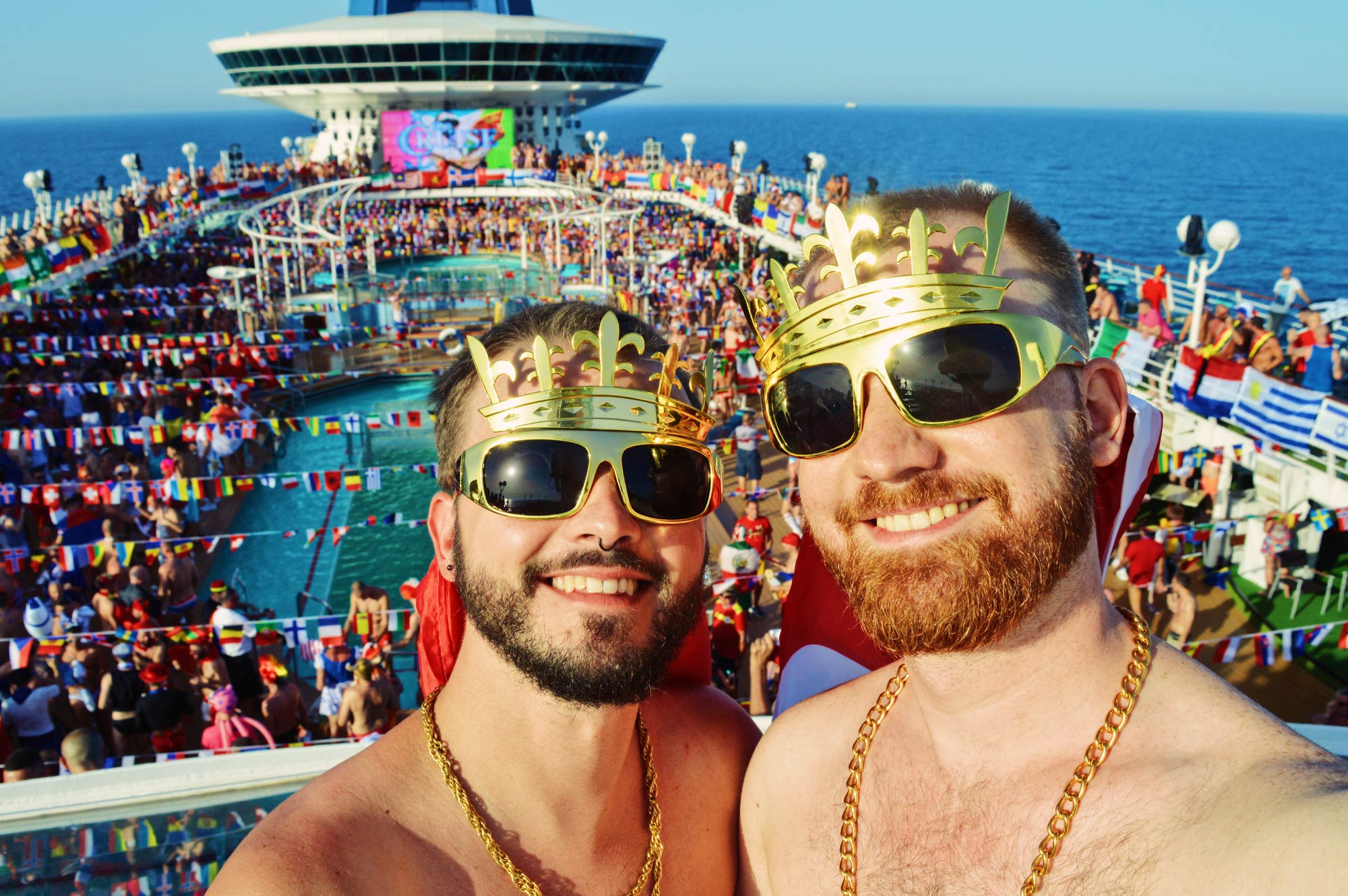 from Finn gay couple cruises