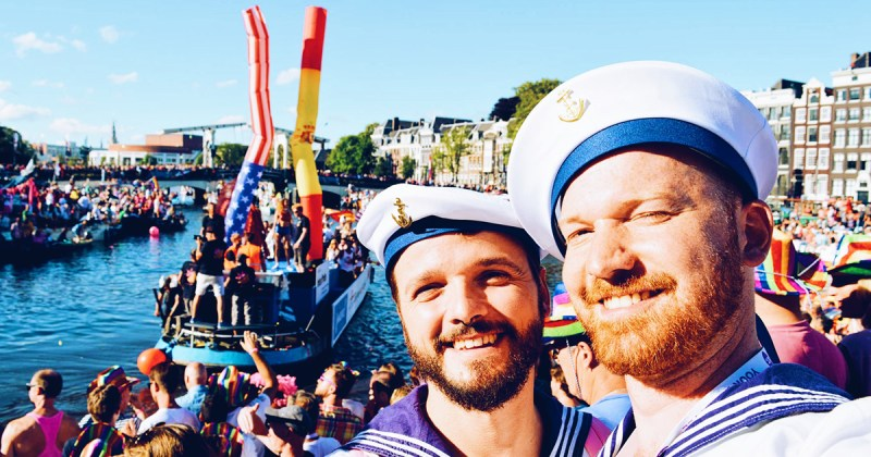 Gay Pride Amsterdam A Couple of Men takes Strong Photos Gay Euro Pride Amsterdam 2021 © CoupleofMen.com