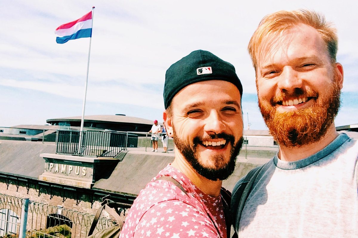 A Gay Couple Biking Tour | Amsterdam to Muiden to Forteiland Pampus