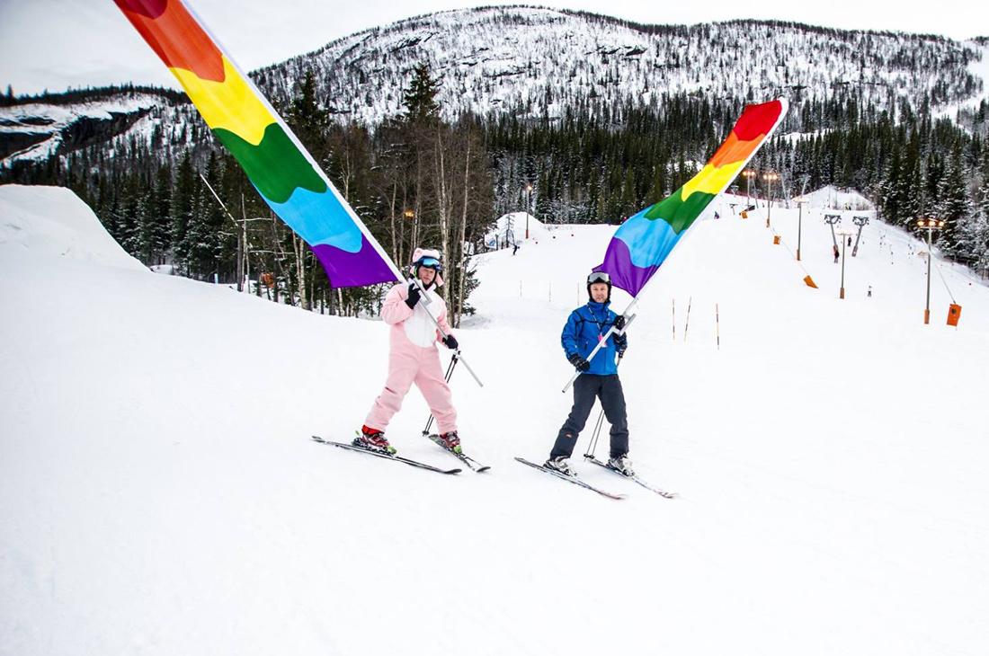 gay dating skiing