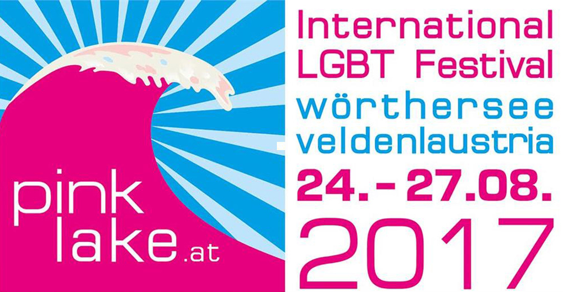 Buy your tickets here! | Gay Travel Blogger Pink Lake Festival Austria © Pink Lake Festival 2017