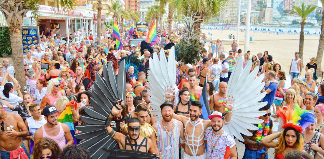 Best of Gay Pride Parade Benidorm in Spain © Karl Krause/ Daan Colijn. Copyright Information: It is not allowed to use, alter, transform or build upon our images or written content without our permission. If you are interested in a commercial or non-commercial/ editorial use of our images, videos or texts, please contact us before doing so. We gladly provide you with our rate card.