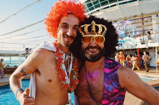 Disco Kings | Disco T-Dance Party The Cruise 2017 © CoupleofMen.com