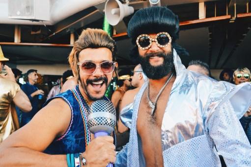 Karaoke all over the cruise ship | Disco T-Dance Party The Cruise 2017 © CoupleofMen.com