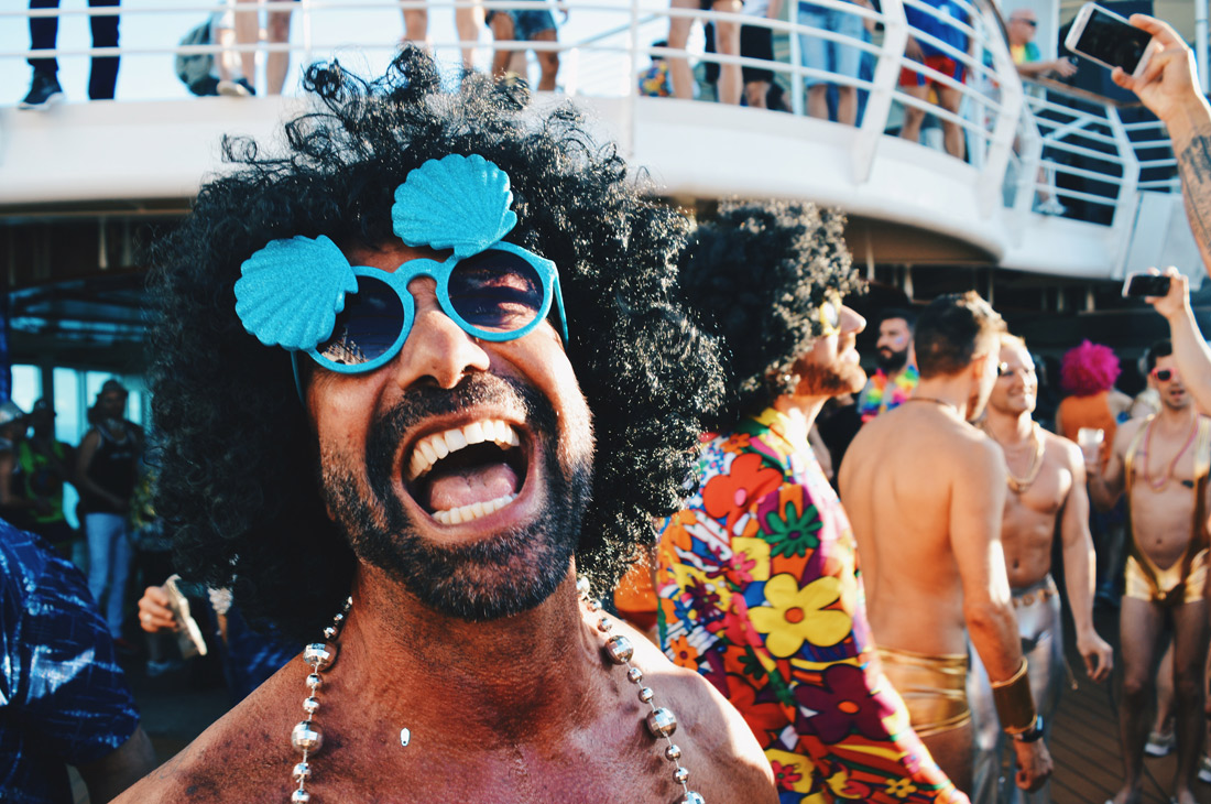 "Handsome man Best Photos & Video of the European Gay Cruise ""Disco T-Dance Party"" of The Cruise 2017 © CoupleofMen.com"