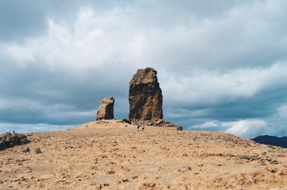 The Roque Nublo on Gran Canaria © CoupleofMen.com