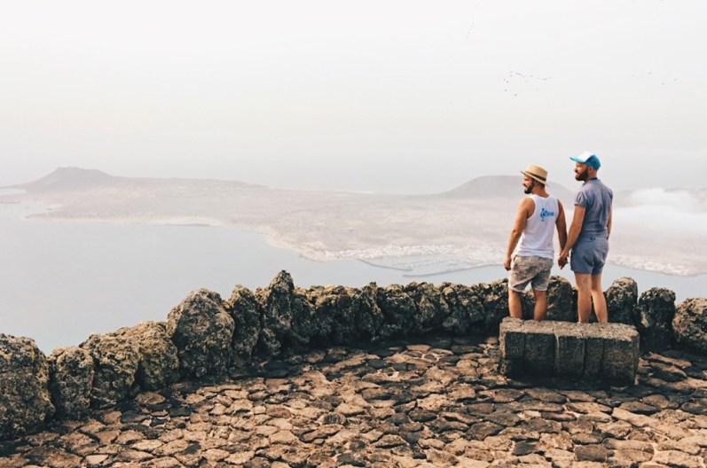 Viewpoint Mirador del Río, Lanzarote | Gay Couple Travel Diary The Cruise 2017 © CoupleofMen.com