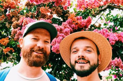 Selfie on the flower island Madeira | Gay Couple Travel Diary The Cruise 2017 © CoupleofMen.com