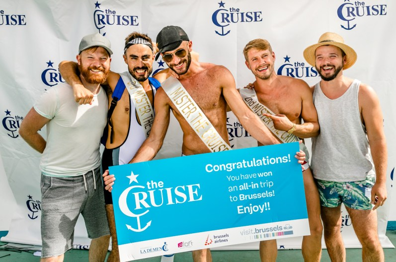 Mr. The Cruise 2017: Christiano Vincenti from Malta | Gay Couple Travel Diary The Cruise 2017