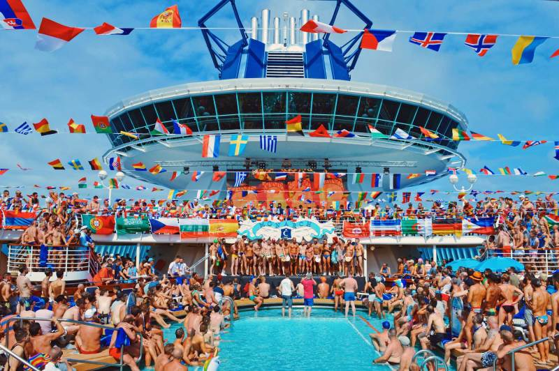 European Gay Cruise That's the best Photo of The Cruise 2017 | Gay Couple Travel Diary The Cruise 2017 © CoupleofMen.com