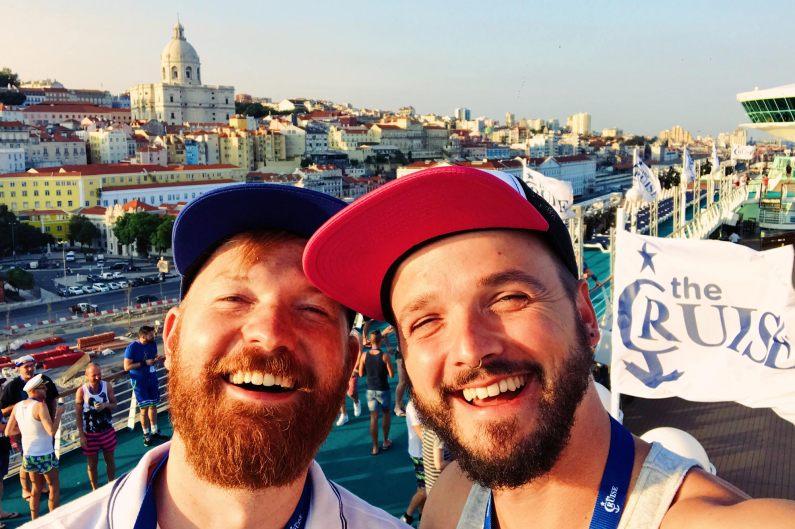 OMG We are so super excited! © CoupleofMen.com